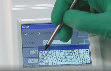 Touchscreen FINECARE